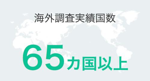 日経リサーチの海外実績