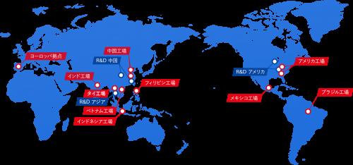 日信工業の海外事業