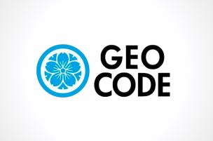 ジオコードのロゴ