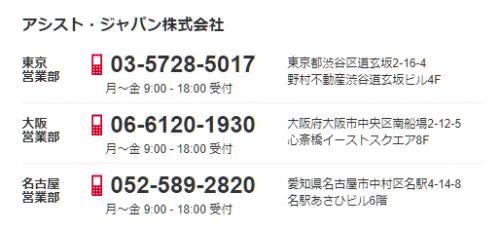 アシストジャパン-営業部