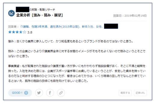 <口コミ画像>OpenWork