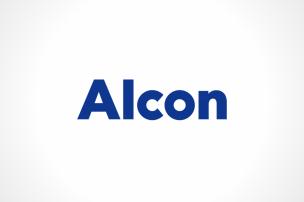 日本アルコンのロゴ