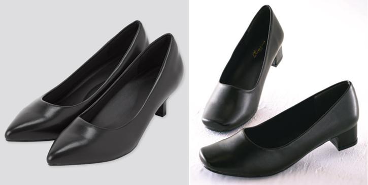 面接女性靴