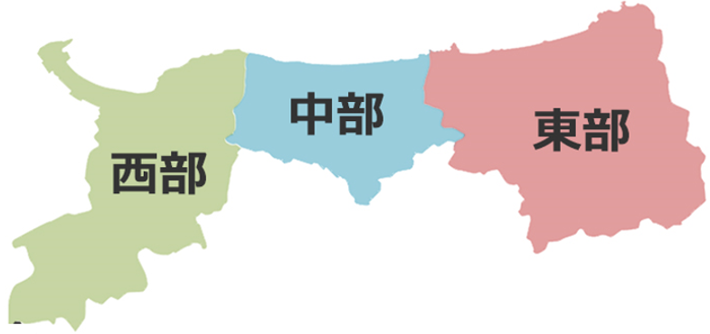 鳥取県医療圏