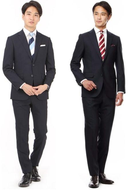 面接スーツ男性